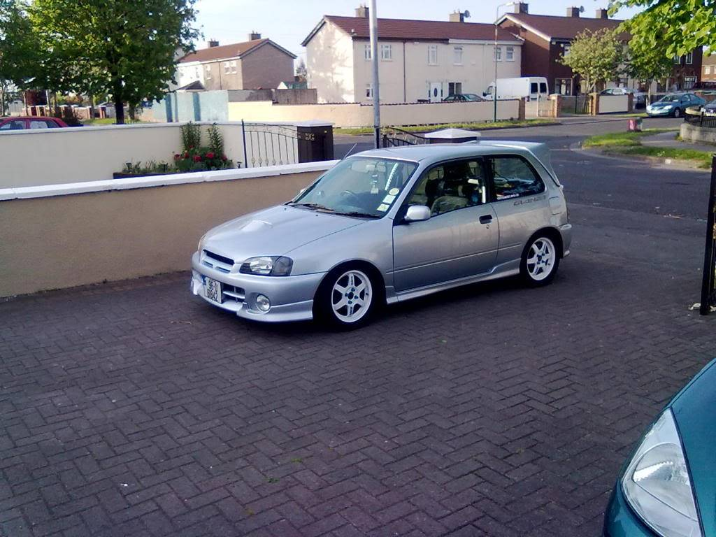 My 98 Glanza V optional extra build Cars023