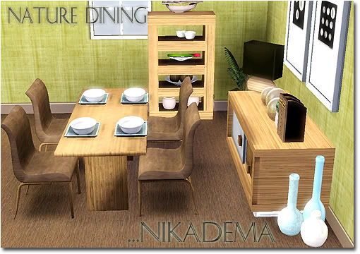 The Sims 3 Updates - 23/10/2010 Nikadema