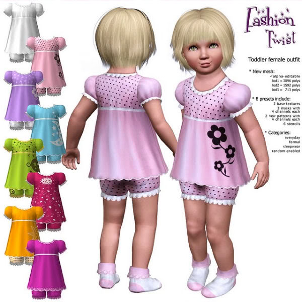 The Sims 3 Updates - 29/10/2010 Fashiontwist2