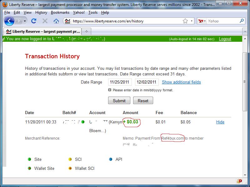 شركة ref4bux ذات الدفع الفورى عالم جديد من الربحية  إثبات دفع شحصى والحد الادنى 5 سنت 1