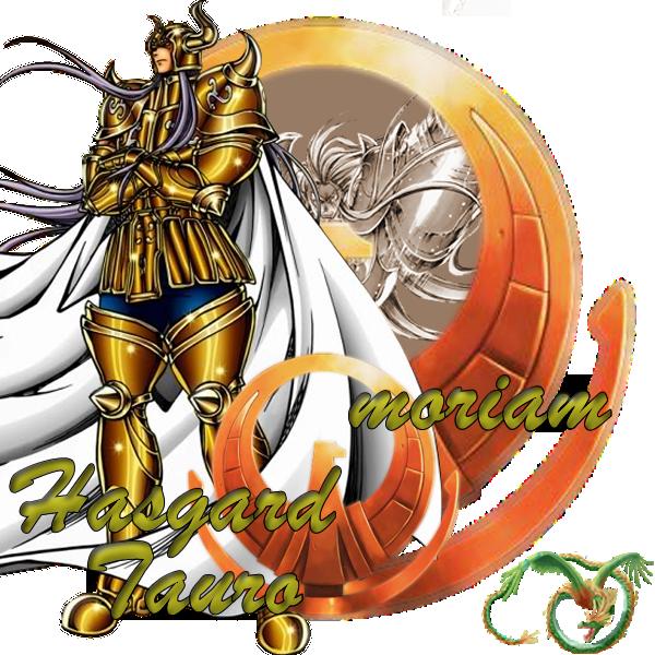 Hasgard de Tauro vs Shun, Armadura Divina de Andromeda  Hasgard