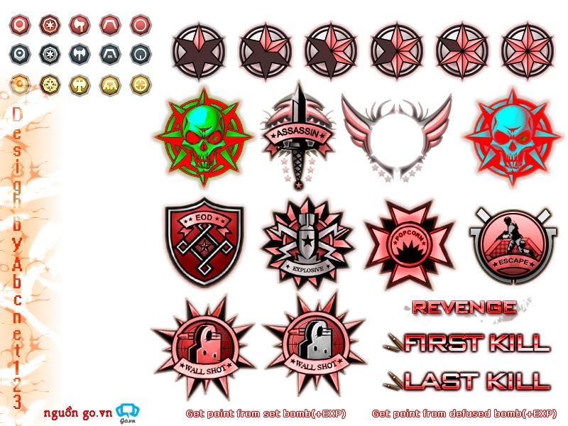 Tiêu đề: [Tổng Hợp ]Killmark & Theme for CF Cho Moi Phien 1100    03, 2012   Killmark_Red