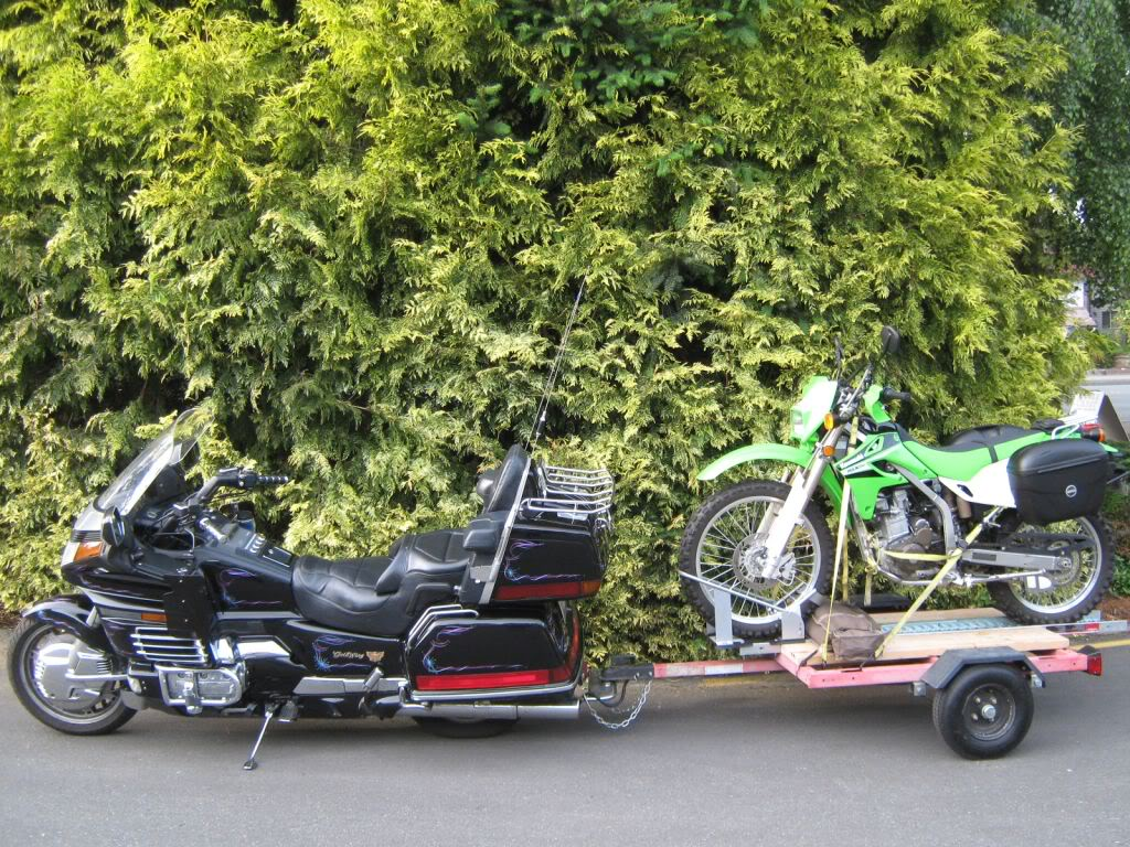 Insurance with Darkside tire Goldwinganddirtbiketrailer