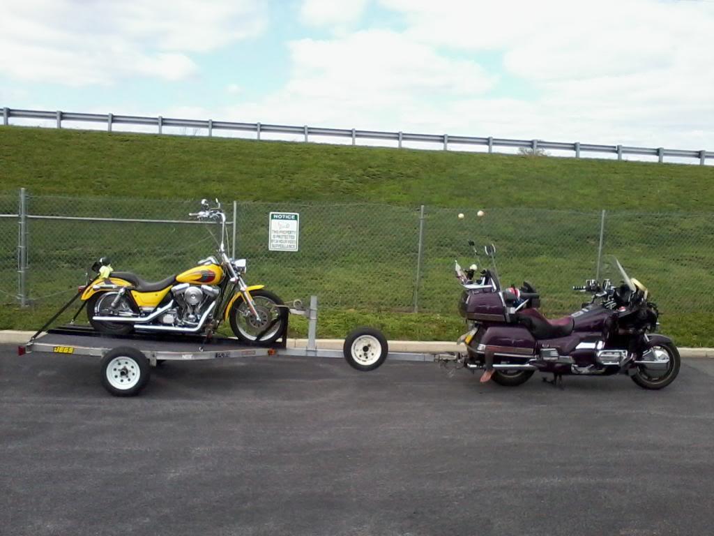 Trailer Trashing Harleytrailers