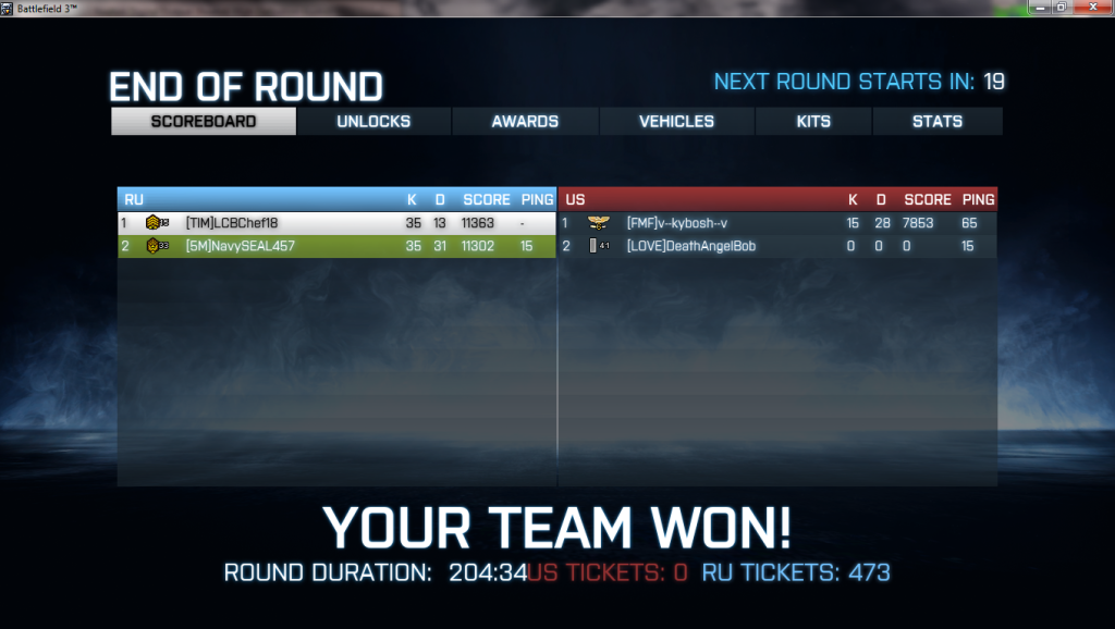 The Official Battlefield 3 Platoon! Owned