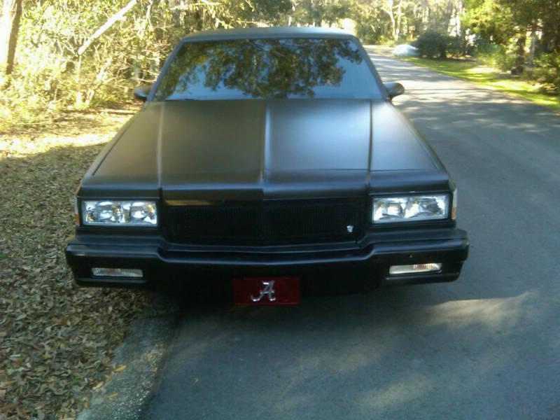 The Flat/Satin Black Thread 1990-Chevrolet-Caprice-110590267673-9-o