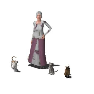 Clayworld's Sims Kat