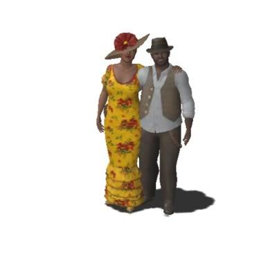 Clayworld's Sims MissLucilleTravelinJoe