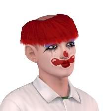 Clayworld's Sims TragicClown