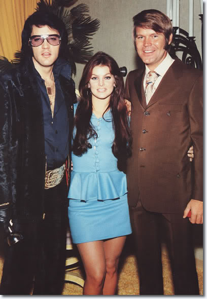 Clayworld's Sims Elvis_cilla_glen_campbell_george_klein_wedding_1970_dec_5