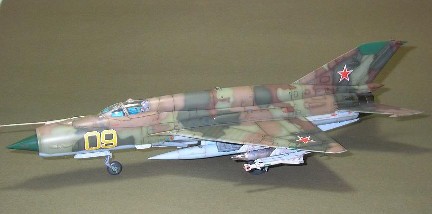 MiG-21 SMT, Eduard, 1/48 30-2