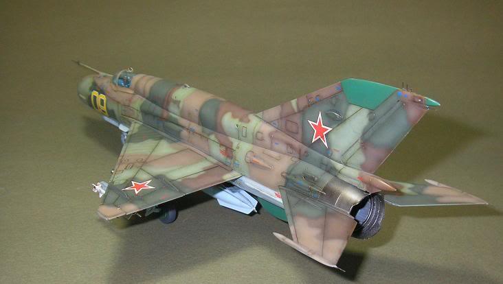 MiG-21 SMT, Eduard, 1/48 34-3