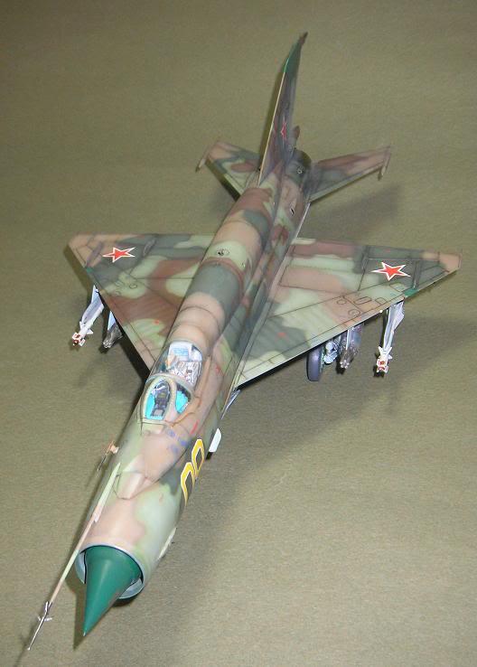 MiG-21 SMT, Eduard, 1/48 38-3