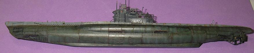 U-1023, AFV Club, 1/350 P1010987