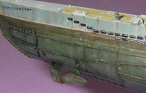 U-1023, AFV Club, 1/350 P1010990