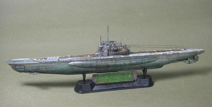 U-1023, AFV Club, 1/350 P1011007