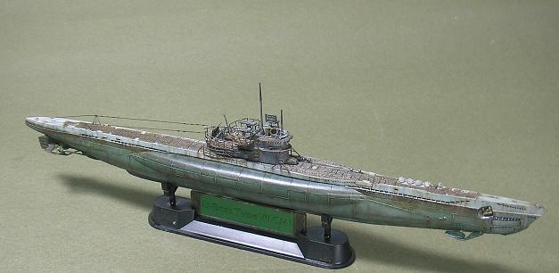 U-1023, AFV Club, 1/350 P1011009