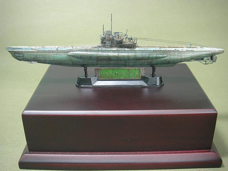 U-1023, AFV Club, 1/350 P1011012