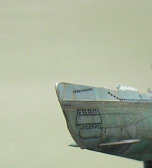 U-1023, AFV Club, 1/350 P1011013