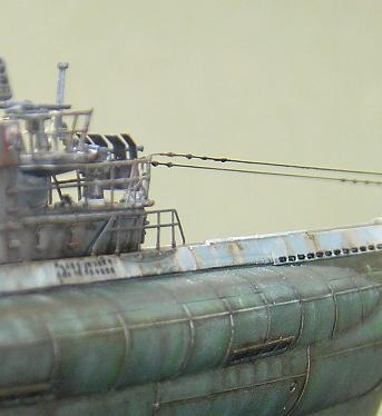 U-1023, AFV Club, 1/350 P1011014
