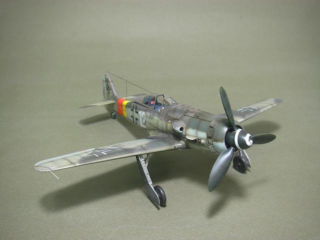 Fw-190 D-9 Eduard au 1/48 : P1011055
