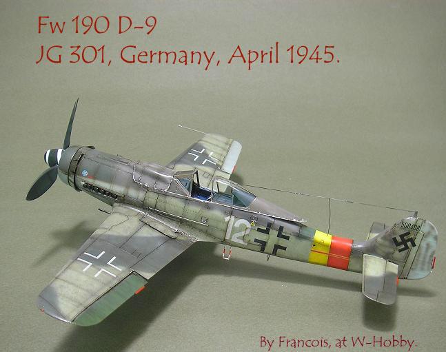 Fw-190 D-9 Eduard au 1/48 : P1011059