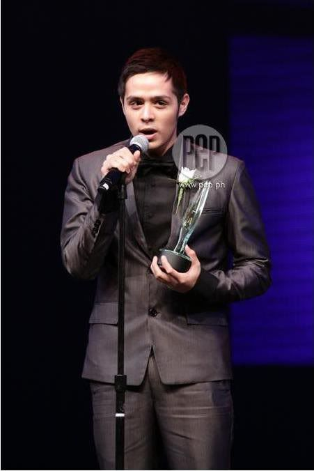 PMPC BEST NEW ACTOR OF THE YEAR for movie award 2010. :) CONGRATS!!! :) Mm