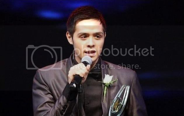 PMPC BEST NEW ACTOR OF THE YEAR for movie award 2010. :) CONGRATS!!! :) Mmm