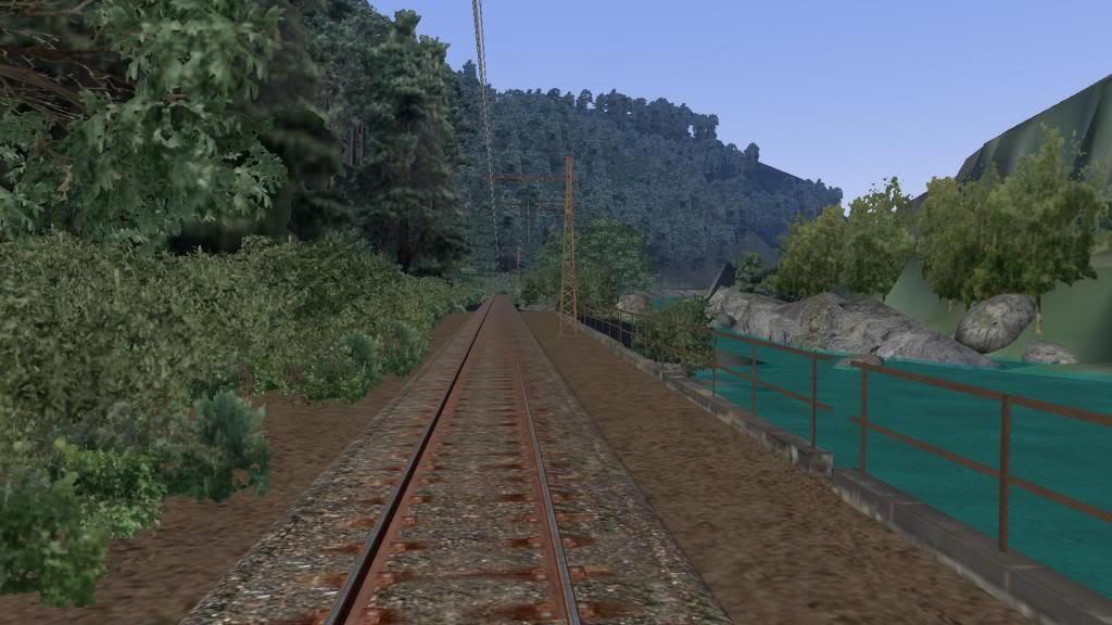 route railworks entre garazi et bayonne Bidarray