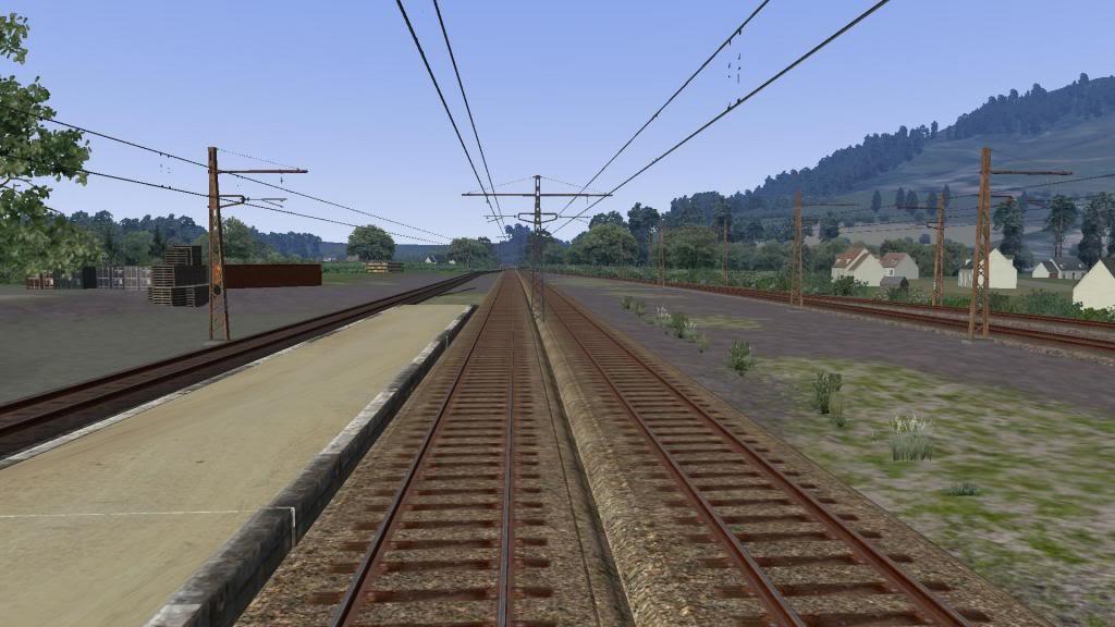 route railworks entre garazi et bayonne Garazi
