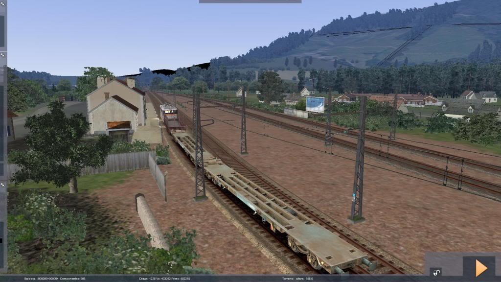 route railworks entre garazi et bayonne Garazi4