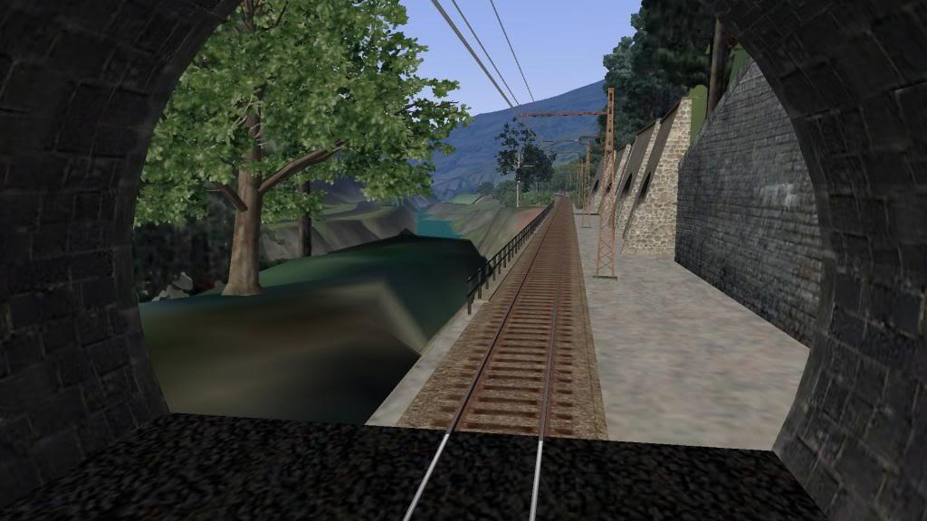 route railworks entre garazi et bayonne Izargi