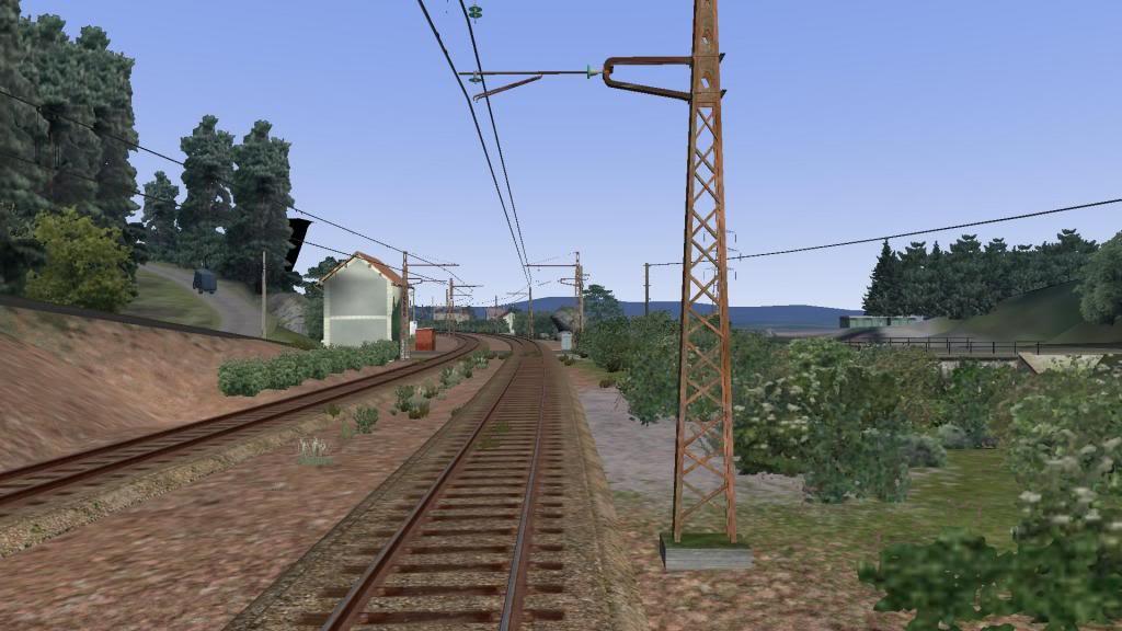 route railworks entre garazi et bayonne Osses