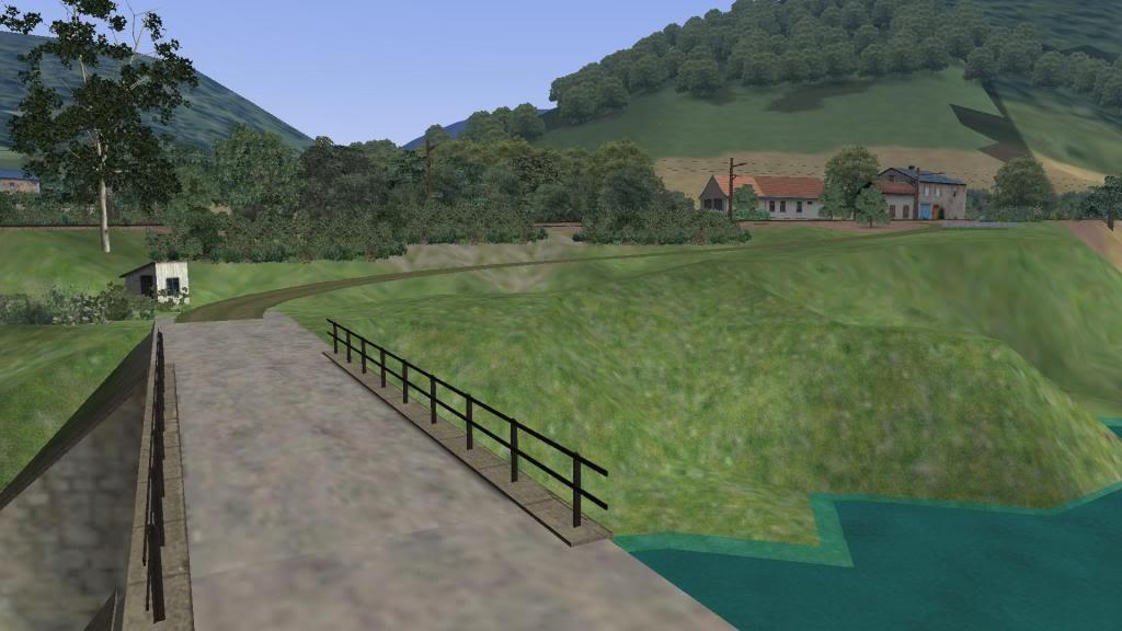 route railworks entre garazi et bayonne Zubi