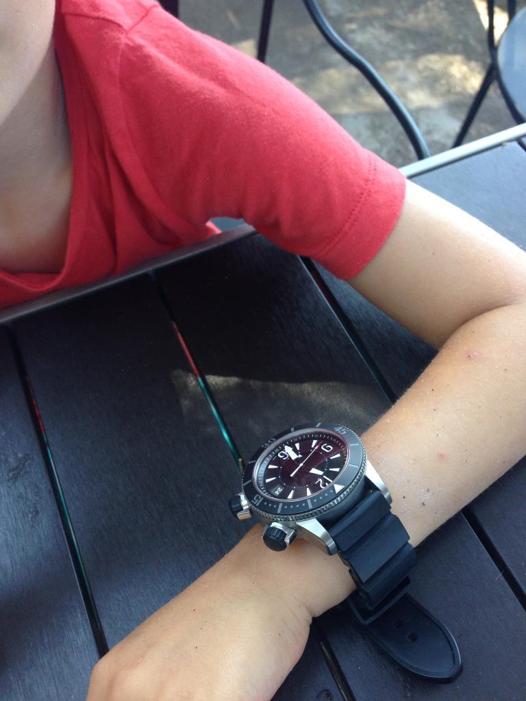 Votre montre sur le poignet d'un autre ... - Page 3 3062C60B-B877-492A-8FF0-55B1684A5DAE