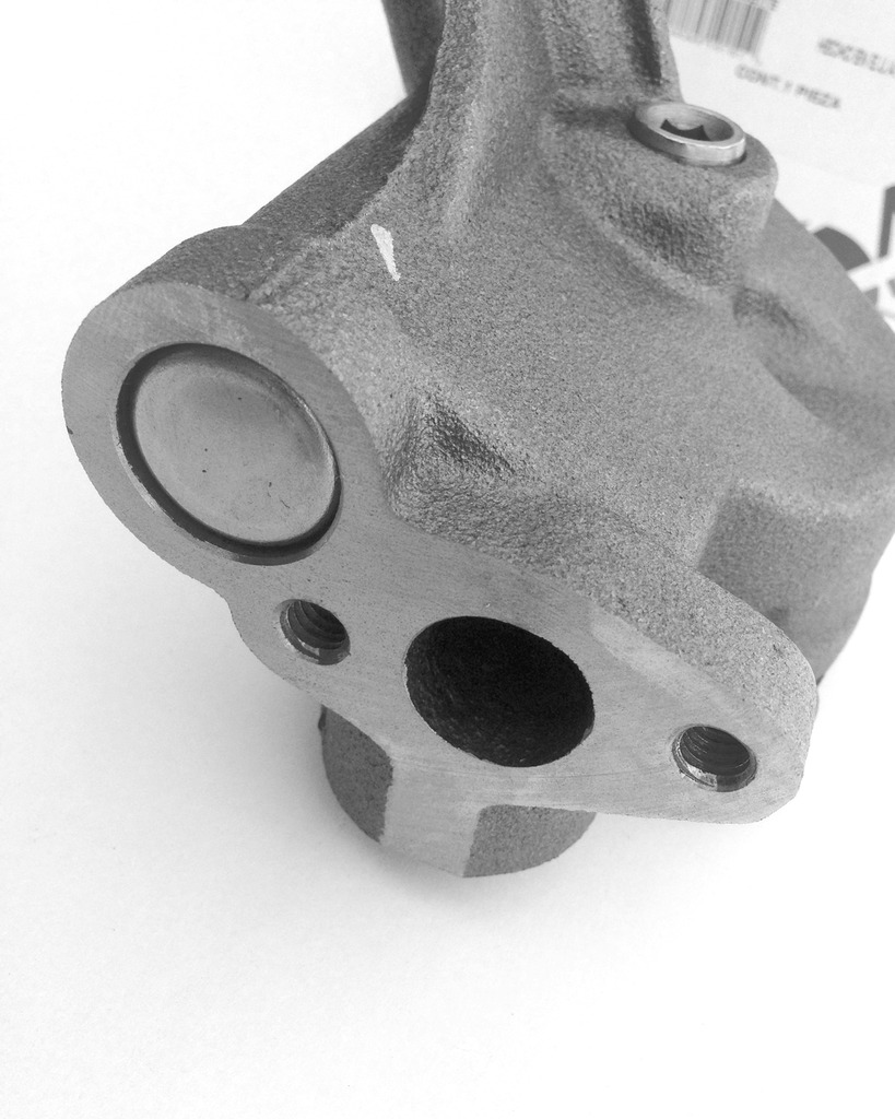 How to modify a M-84D Meling standard oil pump? A
