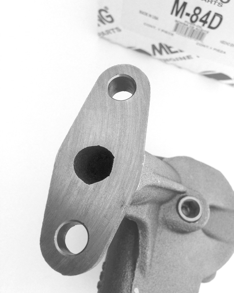 How to modify a M-84D Meling standard oil pump? B