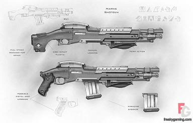 The Committee (Human Faction.) MarineShotgun