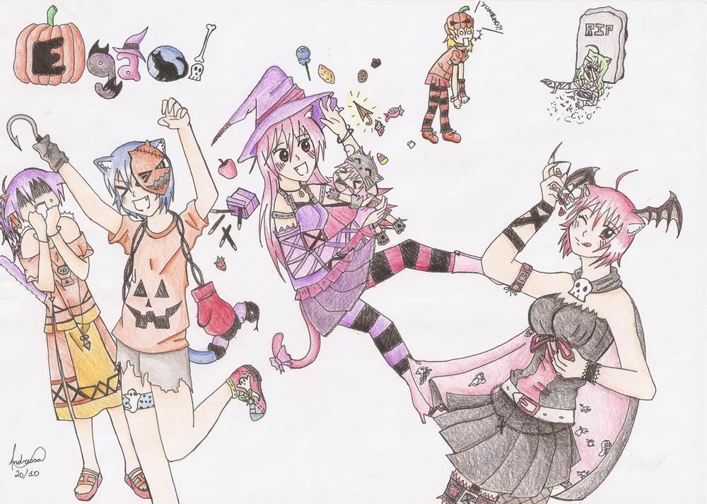 Concurso Halloween 2010  Desenho-egao-dessa