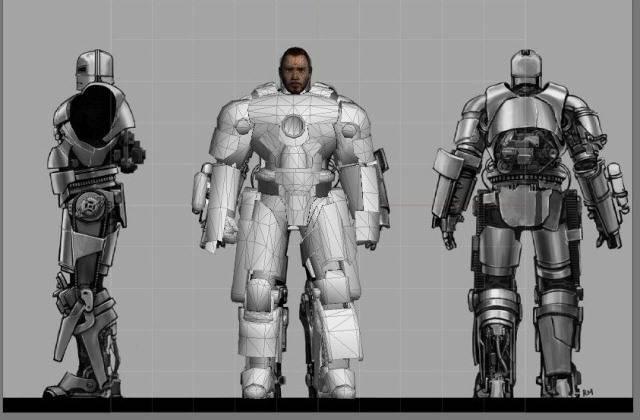 Iron Man 3 Hall of Armor Escala 1/6 MKI2