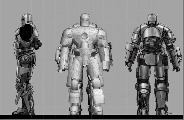 Iron Man 3 Hall of Armor Escala 1/6 MKI3