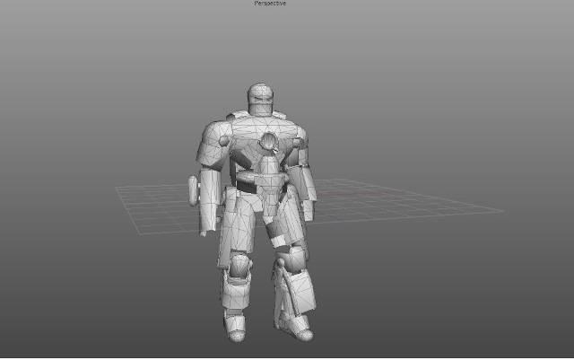 Iron Man 3 Hall of Armor Escala 1/6 MKI4