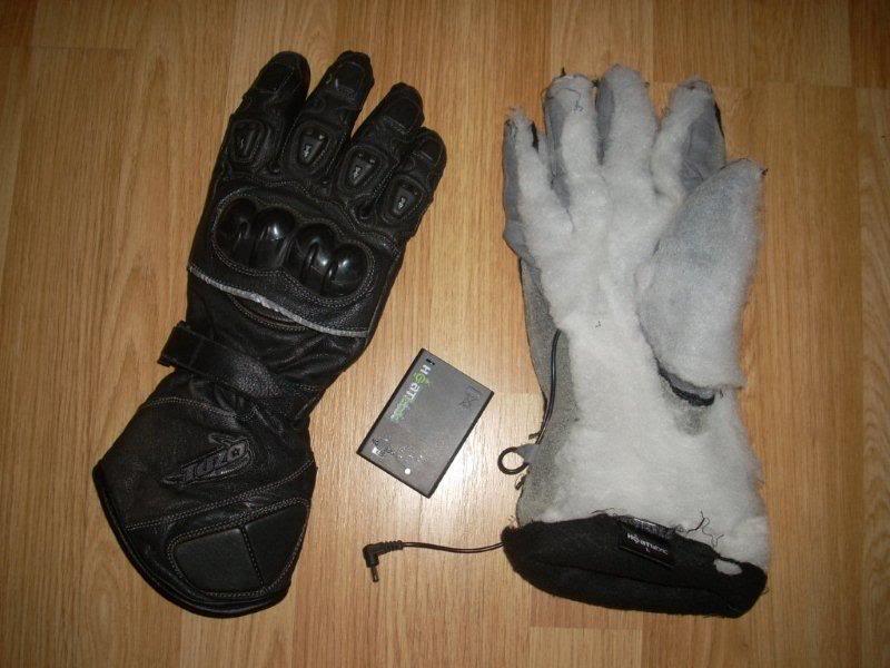 Battery heated gloves DSCN2303