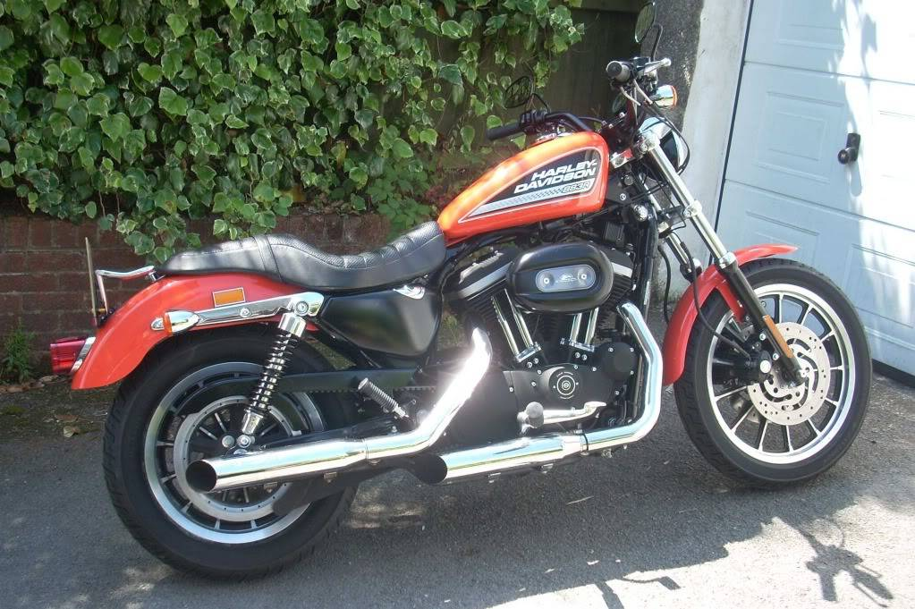 I bought a Harley!! HD1