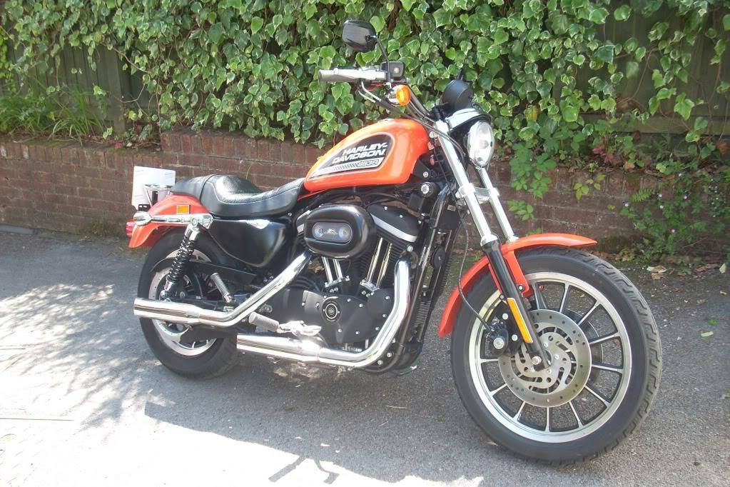 I bought a Harley!! HD2