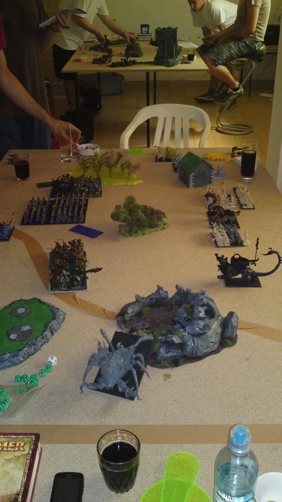 20.8.2011 - Lizardmen vs. Helves; Orcs & Goblins vs. Tomb Kings 20082011598-1