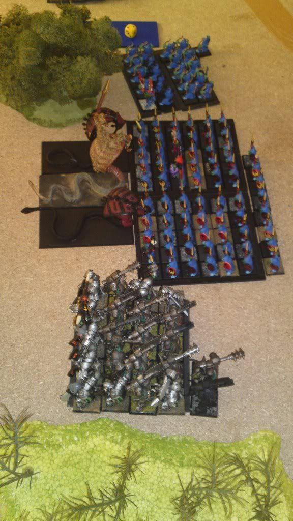 20.8.2011 - Lizardmen vs. Helves; Orcs & Goblins vs. Tomb Kings 20082011608-1