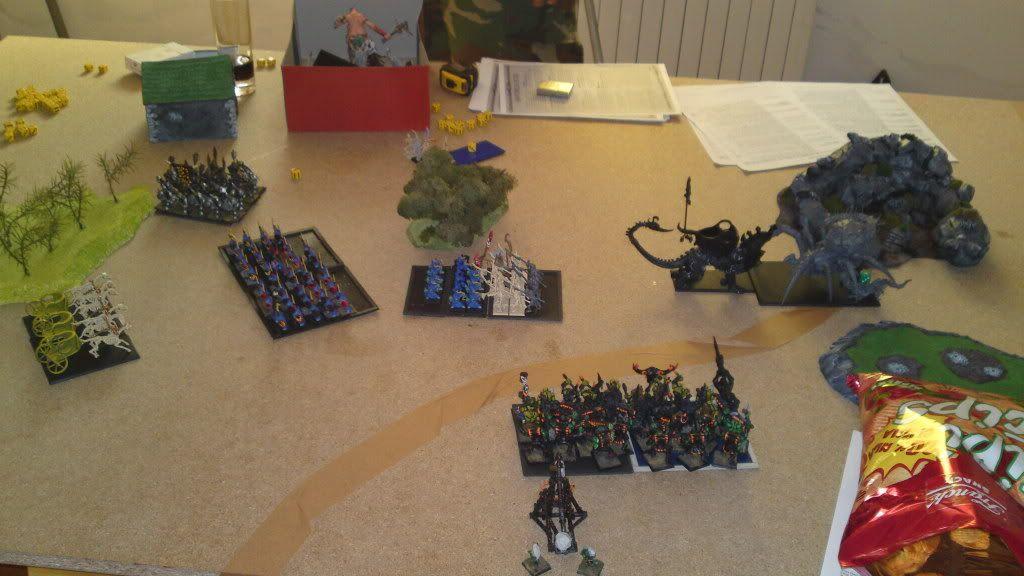 20.8.2011 - Lizardmen vs. Helves; Orcs & Goblins vs. Tomb Kings 20082011623