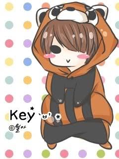 Chibi fanart của b. trẻ Key ~Kim Ki Bum K1