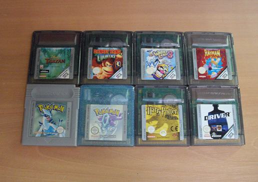 Collection de Peco Gameboy